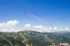 Patrouille de France_©SylvainAymoz (Méribel Tourisme) Tags: france savoie tarentaise vanoise méribel air show semaine airvent bleu blanc rouge spectacle ete bonheur loisir summer montagnes moutains
