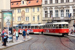 TRAMWAY PRAGUE ( PRAHA ) CZECH REPUBLIC (JEANPHI2206) Tags: prague praha europ czech republic czechrepublic