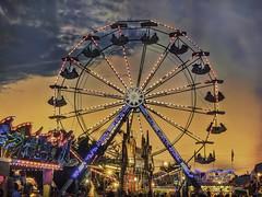 Summer of '16 (zuni48) Tags: ferriswheel carnival fair summer amusementrides sunset