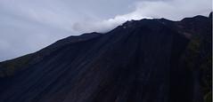 stromboli (isabellerosenberg) Tags: italy mountain del landscape island sicily mountainside fuoco stromboli sciara