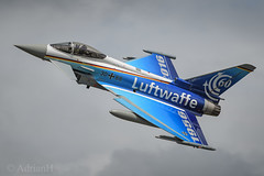 Luftwaffe Typhoon (AdrianH Photography) Tags: nikon aircraft aviation jets 70200 aeroplanes airshows fairford airtattoo