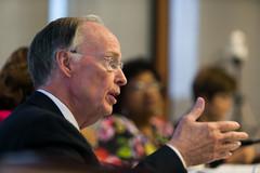 08-04-2016 Gov. Bentley attends State Superintendent Finalists' Interviews