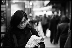 one day in chinatown (-{ ThusOriginal }-) Tags: 135 bw blackandwhite city f3hp film fujineopan1600 monochrome nyc street thusihaveseen winter thusoriginal newyork scan