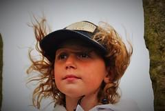 Le vent dans tes cheveux blonds... (dominiquita52) Tags: summer portrait girl vent wind yorkshire enfant fille