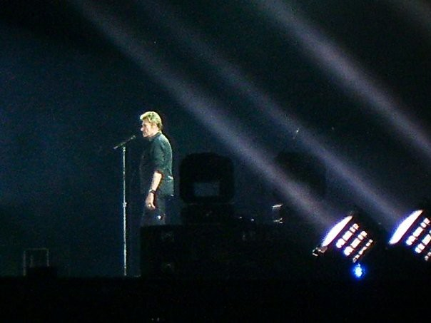Johnny Hallyday - Tour 66 - Stade des Alpes, Grenoble (2009)