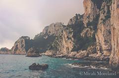 Capri (micahmoreland) Tags: ocean travel blue sea italy cliff nature water rock outside island capri coast boat italian ancient colorful amalficoast roman outdoor famous rich rocky fancy grotto coastline cave posh sorrento amalfi isola caveoso anacapri seacave whitegrotto