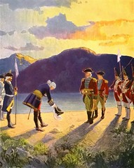 """""""The Meeting of the Generals"""" by N. C. Wyeth from """"The Last of the Mohicans"""" by James Fenimore Cooper. NY: Scribner's, 1919. First edition (lhboudreau) Tags: book books hardcover hardcovers hardcoverbook hardcoverbooks vintagebook vintagebooks classicbook classicbooks classicnovel classicstory art artist illustrator illustrated illustration illustrations drawing drawings illustratedbook illustratedbooks illustratedclassics bookart wyeth ncwyeth 1919 illustratedclassic vintageillustration vintageillustrations classicillustrator classicillustrations vintagebookillustrations vintagebookillustration lastofthemohicans mohicans thelastofthemohicans cooper jamesfenimorecooper fenimore uncas frenchandindianwar 1757 nattybumppo hawkeye chingachgook americanindian americanindians nativeamerican nativeamericans indians indian charlesscribnerssons scribners charlesscribners firstedition fiction general generals meetingofthegenerals themeetingofthegenerals"""