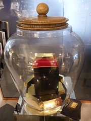 Dreams Are As Precious As Gold By Harrods Roald Dahl's BFG Dream Jar Hunt London Aug 2016 (symonmreynolds) Tags: dreamsareaspreciousasgold harrods roalddahl bfg dreamjarhunt statue london august 2016