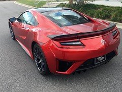 2017 Acura NSX  #acura #nsx (Red wings 1) Tags: acura nsx