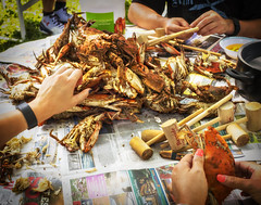 07/23/2016365 Main Street Project  111 of 365 (Sixstring563) Tags: 365 main street project maryland steamed crabs heat wave