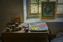 The Childs Bedroom (Sh4un65_Artistry) Tags: artwork digitalart digitalpainting furniture painteffect paintedphoto painterly pictureetc stilllife textiles textured topaz topazimpression topaztextureeffects woodwork