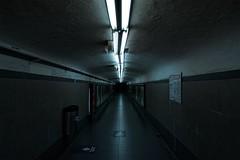 Camino a la oscuridad (waltercastro) Tags: subte oscuridad argentina soledad