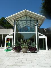 Lisle, IL, Morton Arboretum, Research Facility (Mary Warren (7.1+ Million Views)) Tags: building architecture palm pottedplants agave mortonarboretum lisleil
