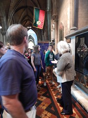 Kate guides us through the cathedral (BBuzz1) Tags: saintpatrickscathedral westsalemhighschool westsalemhighschoolfrench wshsfrench wshseurotrip dublin