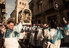 La Madonna della Visitazione a Enna (Massilo) Tags: sicilia sicily sky shadow festereligiose fedeli feste enna