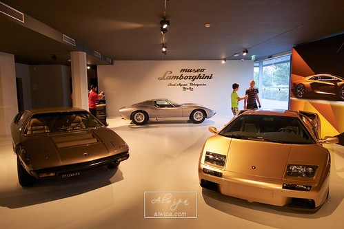 "Lamborghini Museum - Sant'Agata Bolognese • <a style=""font-size:0.8em;"" href=""http://www.flickr.com/photos/104879414@N07/28530531532/"" target=""_blank"">View on Flickr</a>"