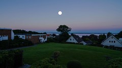 Full moon early in the morning (frankmh) Tags: fullmoon moon landscape night earlymorning hittarp skne sweden outdoor