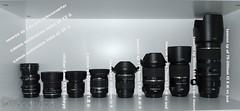 Canon Equpment gear 160730 (Bianchista) Tags: 2016 bianchista juli objektive vivitar canon tamron lens lenses 8mm 600mm 200mm 70mm 24mm 11mm 18mm f2 8 f18 equipment gear