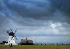 Lytham (perseverando) Tags: lytham lancashire coast windmill sea clouds weather perseverando lowry lowryesque