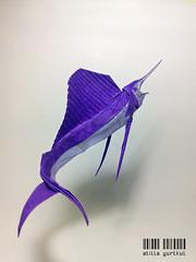 Sailfish (atilla yurtkul) Tags: dargelirli atilla yurtkul origami yelken balığı vu nguyen ngoc sailfish