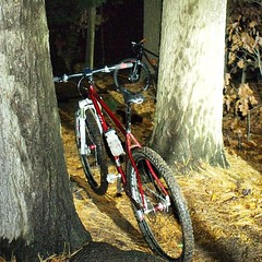 WCW night ranger action with @lonewolfcycling #weavercycleworks #custombicycles #rideinthewoods