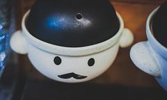 Mr. Teapot (Richard Nabarro) Tags: cute korea moustache seoul teapot matte