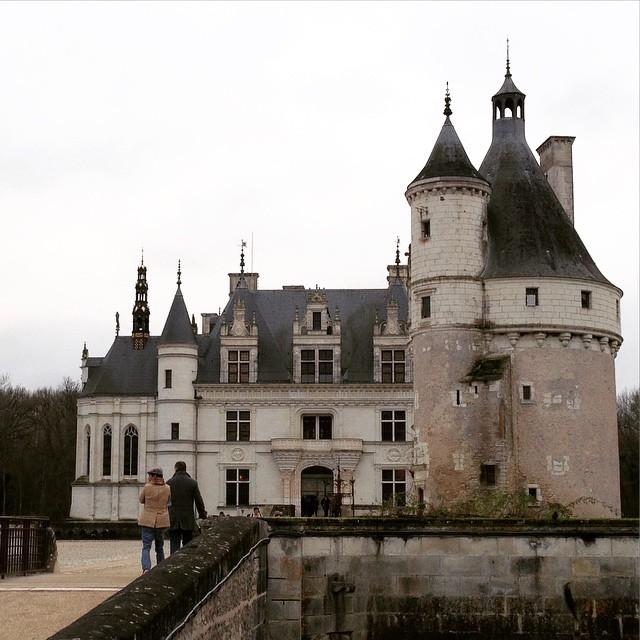 Chateau con la neige ! #Loira