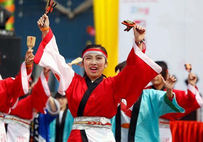 Múa Yosakoi Nhật Bản