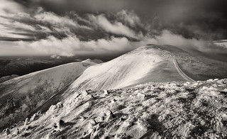 Looking to Skiddaw from Little Man
