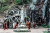 Novice monks in Phowin caves, Myanmar (Vik 2012) Tags: canon flickr caves monks myanmar travelphotography flickraddicts greatphotographers goldstaraward flickrunitedaward flickttravelaward