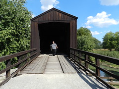 Trip to Bollinger Mill 9/28/2014 5 (whitebuffalobk) Tags: mill missouri coveredbridge burfordville bollingermill