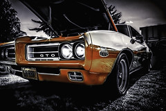 Judge the Goat (Steve Walser) Tags: car pontiac gto