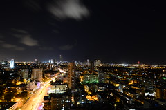 Big City Lights (dudi.arviv) Tags: city longexposure urban skyline night outdoors cityscape outdoor horizon cityscapes wideangle ultrawide 11mm nikond7100 tokina1116mmf28iiatxpro