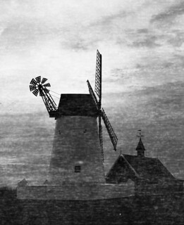 Lytham Windmill Damaged OOD HP5+ Harvey 777