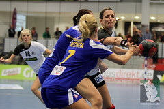 "EHF Damen Deutschland vs. Rumänien 30.11.2014 002.jpg • <a style=""font-size:0.8em;"" href=""http://www.flickr.com/photos/64442770@N03/15889945746/"" target=""_blank"">View on Flickr</a>"