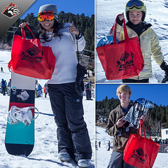 Opening Day Contest Winners at Bear Mountain in Big Bear Lake, California.