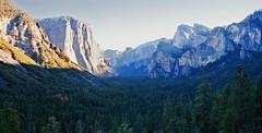 Yosemite Valley (ofarrl) Tags: california usa mountain landscape nationalpark valley halfdome elcapitan sierranevada yosemitevalley glacial glaciated