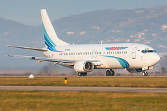 Boeing 737-400 Yamal Airlines VP-BKW cn 29204/3051 (Guillaume Besnard Aviation Photography) Tags: grenoble plane airplane aircraft canoneos planespotting 737400 boeing737 gnb airplanespotting boeing737400 lfls grenobleisère grenobleairport yamalairlines grenoblestgeoirs grenoblesaintgeoirs vpbkw cn292043051