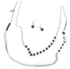5th Avenue Silver Necklace P2240A-4