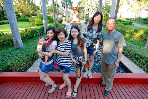 Hyatt Regency Hua Hin fountain