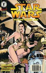 Dark Horse Comics - Star Wars: Return of the Jedi (swallace99) Tags: starwars princessleia r2d2 adamhughes darkhorsecomics jabbathehutt