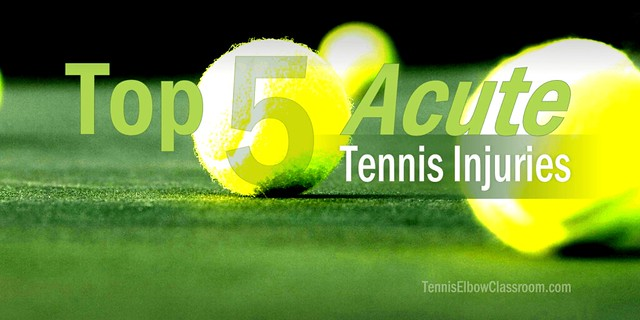 Thumbnail for The Top Five Acute Tennis Injuries