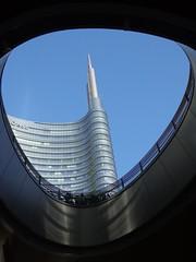 MILANO - Piazza Gae Aulenti (cannuccia) Tags: landscape milano paesaggi lombardia grattacieli thebestofday gnneniyisi dragondaggeraward virgiliocompany maggio2016challengewinnercontest