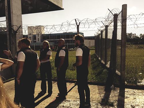Entrando en Una Cárcel