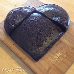 "See, the round cake was sliced in half and paired with the square cake. Together, they make a fabulous heart shaped cake without needing to buy a specialty pan. Pretty cool, don't you think?  #food #baking #cakedecorating • <a style=""font-size:0.8em;"" href=""http://www.flickr.com/photos/54958436@N05/16234264879/"" target=""_blank"">View on Flickr</a>"