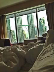 Woke up to this! Kuala Lumpur, Malaysia!