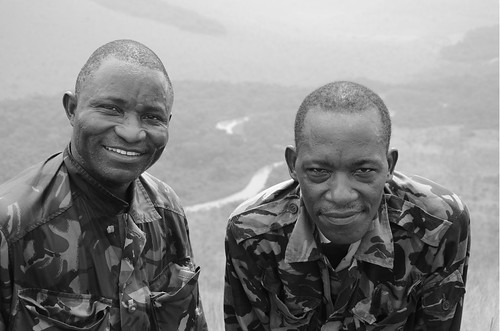 Ah, they were good old boys. Lefini, Republic of Congo