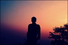 Silhouette (Mrigank Gupta) Tags: sunset silhouette sunrise dawn sony vizag mrigank mrigankgupta