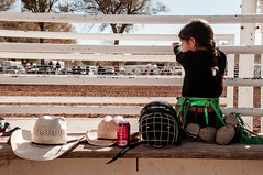 Waiting (LomiMonk [Brian]) Tags: cowboy rodeo behindthechutes lomimonk tierraencantada brianemillerphotography bosquefarmsrodeoassociation