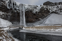 Seljalandsfoss by winter - Iceland (Sigmundur Andresson (1.7 million+ views-Thank you!) Tags: sigmundurandresson canoneos5dmarkii canonef2470mm128lusm img7959 seljalandsfoss waterfalls winter iceland travel worldwidelandscapes frozenwaterfalls water waterfall outdoor landscape thebestofmimamorsgroups greatshotss magicmomentsinyourlife topshots magicmomentsinyourlifelevel3 magicmomentsinyourlifelevel2 theoriginalgoldseal rangárþing